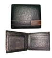 Genuine Leather Wallets with Window Pockets