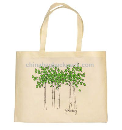 Eco-Friendly Natural Cotton Shopping Bag