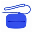 Big Silicone Coin Purse, chave, cartão Bags