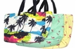 2015 Stof Gedrukte Ladies Beach Bag en Tote Bag Women's